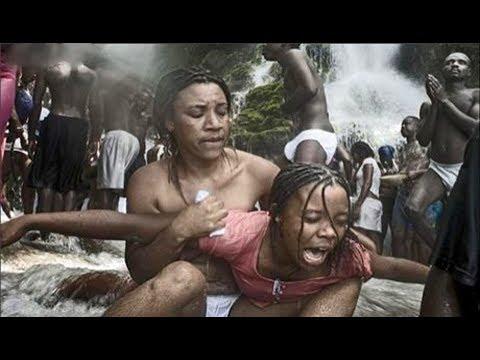 شاهد عقاب المرأة الخائنة في نيجيريا
