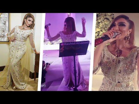 شاهد المطربة المغربية دنيا بطمة ترقص في فرح بالفستان الأبيض