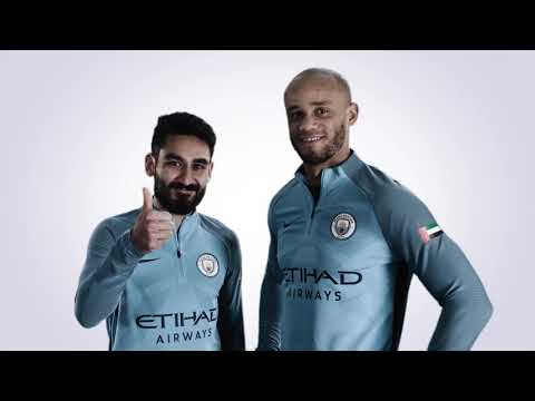 بالفيديو  لاعبو مانشستر سيتي يهنئون الإمارات بعيدها الوطني