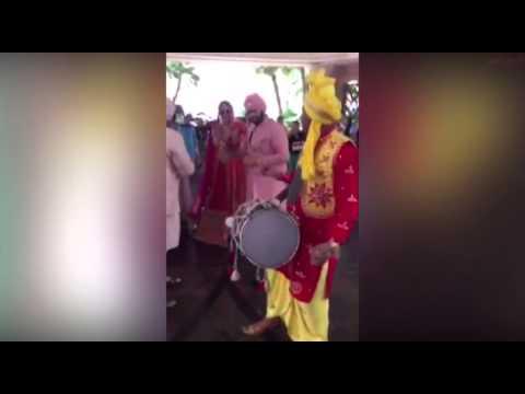 بالفيديو زفة هندي تشعل جزيرة النخلة في إمارة دبي